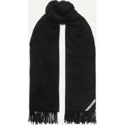 Acne Studios - Canada Fringed Cashmere Scarf - Black found on Bargain Bro UK from NET-A-PORTER UK