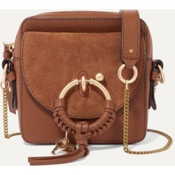 See By Chloé - Square Textured-leather And Suede Shoulder Bag - Tan found on Bargain Bro UK from NET-A-PORTER UK