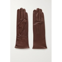 Agnelle - Grace Leather Gloves - Brown found on MODAPINS from NET-A-PORTER UK for USD $155.50