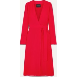 Akris - Silk Crepe De Chine Wrap Dress - Red found on MODAPINS from NET-A-PORTER for USD $2793.00