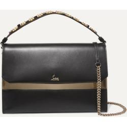 Christian Louboutin - Loubiblues Studded Leather Shoulder Bag - Black found on Bargain Bro UK from NET-A-PORTER UK