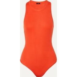 Alix - Bergen Ribbed Stretch-modal Thong Bodysuit - Red found on MODAPINS from NET-A-PORTER for USD $125.00