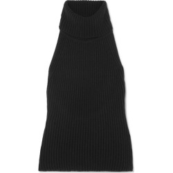 Antonio Berardi - Ribbed Wool And Cashmere-blend Turtleneck Top - Black found on MODAPINS from NET-A-PORTER UK for USD $252.56