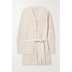 Alex Mill - Belted Cotton And Linen-blend Cardigan - Beige found on MODAPINS from NET-A-PORTER for USD $165.00