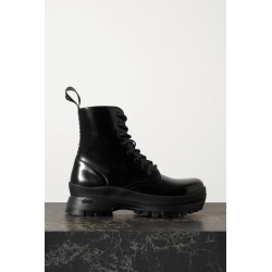 Stella McCartney - Trace Faux Glossed-leather Ankle Boots - Black found on Bargain Bro UK from NET-A-PORTER UK