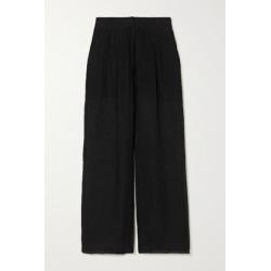 Le Kasha - Sohag Linen Wide-leg Pants - Black found on MODAPINS from NET-A-PORTER UK for USD $572.13
