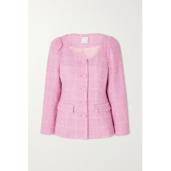 Huishan Zhang - Catrina Tweed Jacket - Pink found on MODAPINS from NET-A-PORTER UK for USD $1787.29