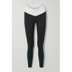 STAUD - + New Balance Striped Stretch Leggings - Black found on Bargain Bro from NET-A-PORTER for USD $83.60