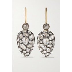 Fred Leighton - Collection Silver-topped 18-karat Gold Diamond Earrings found on Bargain Bro Philippines from NET-A-PORTER for $10200.00