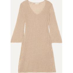 Skin - Lenora Crocheted Cotton Mini Dress - Neutral found on Bargain Bro UK from NET-A-PORTER UK