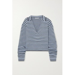 Georgia Alice - Oversized Striped Knitted Sweater - Blue found on Bargain Bro UK from NET-A-PORTER UK