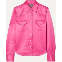 Acne Studios - 2002 Satin Shirt - Pink found on Bargain Bro UK from NET-A-PORTER UK
