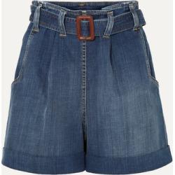 Brunello Cucinelli - Belted Denim Shorts - Blue found on Bargain Bro UK from NET-A-PORTER UK