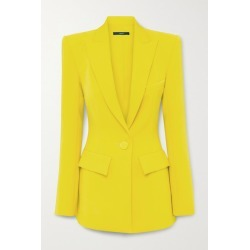 Alex Perry - Alex Crepe Blazer - Yellow found on MODAPINS from NET-A-PORTER for USD $2200.00