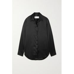 Michael Lo Sordo - Boy Silk-satin Shirt - Black found on MODAPINS from NET-A-PORTER UK for USD $634.84