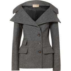Antonio Berardi - Wool-blend Felt Jacket - Gray found on MODAPINS from NET-A-PORTER for USD $2205.00