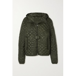 Moncler Genius - + Jw Anderson Hooded Quilted Down Jacket - Army green found on Bargain Bro UK from NET-A-PORTER UK