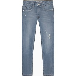 Boys Blue Grey Distressed Jeans found on Bargain Bro India from Calvin Klein, Inc. for $59.99