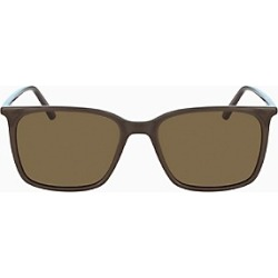 Matte Deep Square Sunglasses found on MODAPINS from Calvin Klein, Inc. for USD $119.20