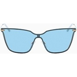Metal Color Shield Sunglasses found on MODAPINS from Calvin Klein, Inc. for USD $159.20