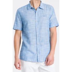 Camisa MC Reg Listr V S Bols Amac - Lilás - P found on Bargain Bro from Calvin Klein BR for USD $126.24