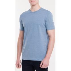 Camiseta Regular Poster - Azul Claro - P found on Bargain Bro from Calvin Klein BR for USD $40.59