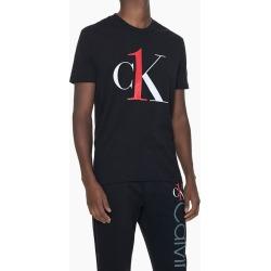 Camiseta Masculina Graphic Logo Preta Loungewear Calvin Klein - S found on Bargain Bro from Calvin Klein BR for USD $51.76