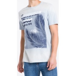 Camiseta Masculina Summer Vibes Azul Clara Calvin Klein Jeans - PP found on Bargain Bro from Calvin Klein BR for USD $68.52