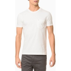 Camiseta Mc Slim Basic Bolso Sustainable - Branco - P found on Bargain Bro from Calvin Klein BR for USD $57.35