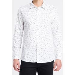Camisa ML Slim Print Exclu S Bols Logo - Branco - P found on Bargain Bro from Calvin Klein BR for USD $141.14