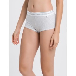 Calcinha Boyshort Algodão Ck One Basic - Cinza Claro - P found on Bargain Bro Philippines from Calvin Klein BR for $38.71