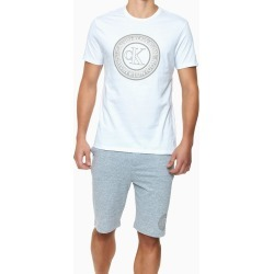 Camiseta Careca Alg Icon Cotton Louge - Branco - S found on Bargain Bro from Calvin Klein BR for USD $55.49