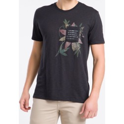 Camiseta MC Regular Silk Flam Rolo Gc - Preto - PP found on Bargain Bro from Calvin Klein BR for USD $53.63
