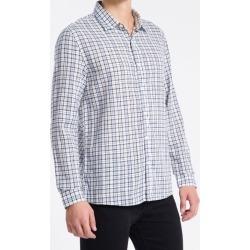 Camisa ML Reg Xadr Exclu S Bols Amac - Rosa Claro - P found on Bargain Bro from Calvin Klein BR for USD $133.69