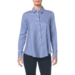 Camisa Listras - Azul Médio - 36 found on Bargain Bro from Calvin Klein BR for USD $122.52