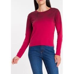 Blusa Ml Crop Silk Meia Reat Jato Gc - Pink - PP found on Bargain Bro India from Calvin Klein BR for $73.01