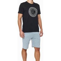Camiseta Careca Alg Icon Cotton Louge - Preto - S found on Bargain Bro from Calvin Klein BR for USD $55.49