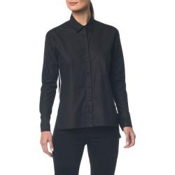 Camisa Ckj Fem Ml Bicolor Faixa Lateral - Preto - 36 found on Bargain Bro from Calvin Klein BR for USD $83.42