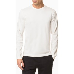 Camiseta Masculina Mg Longa Branca - PP found on Bargain Bro from Calvin Klein BR for USD $66.66