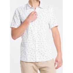 Camisa MLcslim Print Exclu S Bols Logo - Branco - M found on Bargain Bro from Calvin Klein BR for USD $133.69