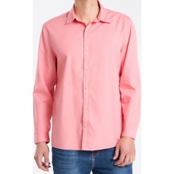 Camisa ML Reg Liso S Bols Reat Amac - Rosa - M found on Bargain Bro from Calvin Klein BR for USD $126.24