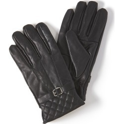 Faux-Leather Glove