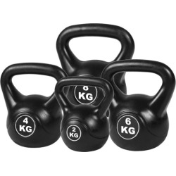 4 Pieces Exercise Kettlebell Weight Set - 20kg