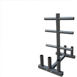 Olympic Weight and Bar Tree Gym Rack
