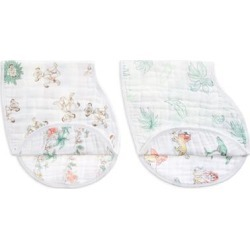 aden + anais The Lion King 2-pack Disney baby classic burpy bibs