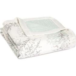 aden + anais metallic skylight birch silky soft dream blanket
