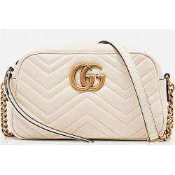 Gucci Gg Marmont Small Matelassé Shoulder Bag size One Size found on MODAPINS from Biffi Boutique Spa for USD $1510.00