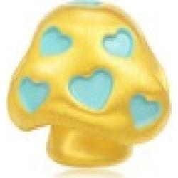 'Fairytales' 999 Gold Mushroom Charm