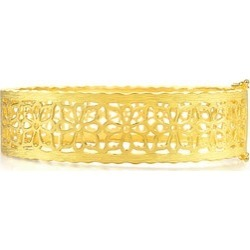 'Gesar Flower' 999.9 Gold Bangle found on Bargain Bro India from Chow Sang Sang for $15826.85