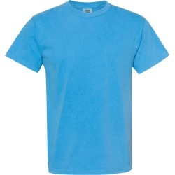 Comfort Colors - Garment-Dyed Midweight T-Shirt - 5500 - Royal Caribe - 2X-Large found on Bargain Bro from clothing shop online for USD $5.85